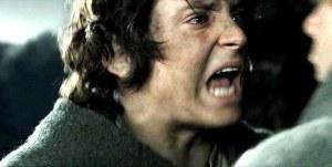 Frodo tells Sam to go home.