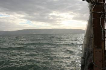 Sailing on the Sea of Galilee